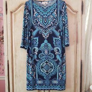Chico Blue/Green dress